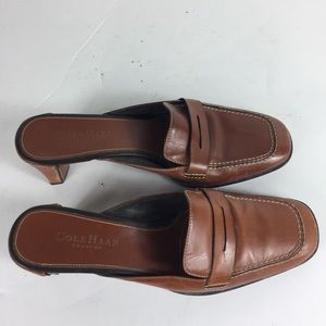 Cole Haan Brown Country 8 Chic Penny Loafers